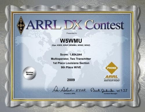 2009-W5WMU-ARRL-DX-PHONE
