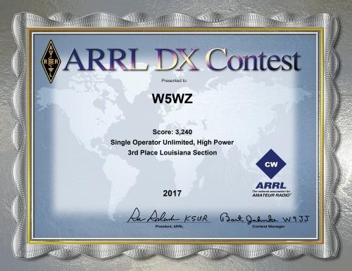 2017-W5WZ-ARRL-DX-CW