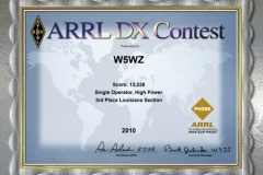 2010-W5WZ-ARRL-DX-PHONE