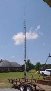 New Life for old EZ Way Tilt-over Crank-Up Tower – Amateur Radio